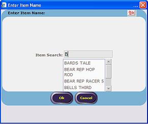 Item Search