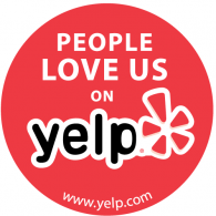 yelp people love us logo
