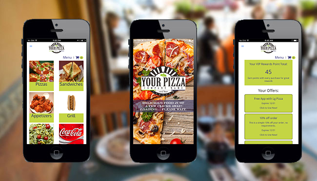 Thrive Restaurant Mobile App