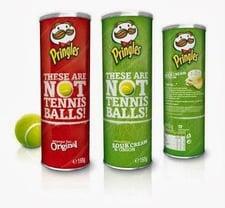 Pringles, Not Tennis Balls