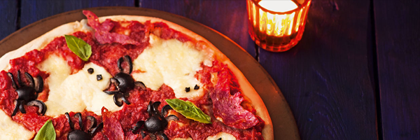pizza restaurant halloween marketing ideas