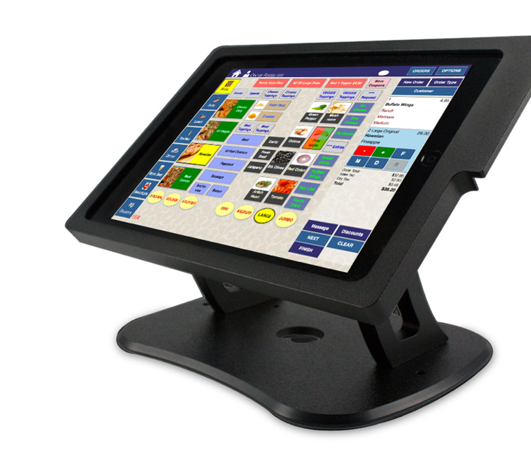 Thr!ve screen on a standard POS system
